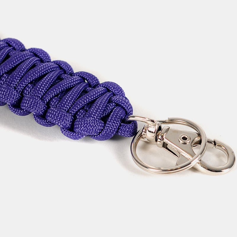 Image of Paracord Keyclip - Purple