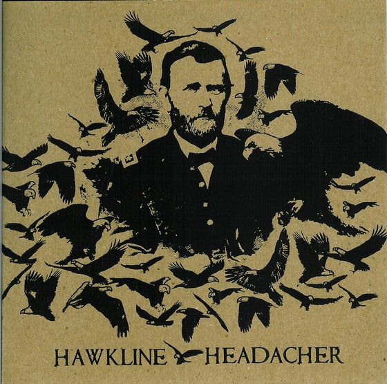 Image of Hawkline / Headacher - Split 7""