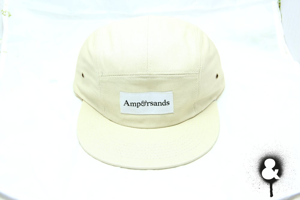Image of Amprsnds 5-Panel Cap - Cream