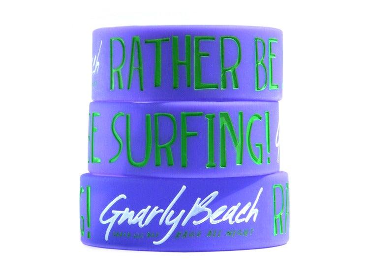 Image of Purple Bracelet - Rather Be Surfing!