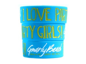 Image of Blue Bracelet - I Love Party Girls!