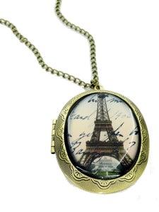 Image of Eiffel Tower Locket