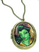 Image of Zombie Bow Locket