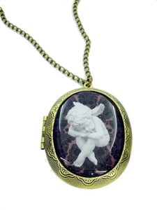 Image of Cute Cherub Locket