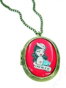 Image of Tattoo Red Sailor Locket