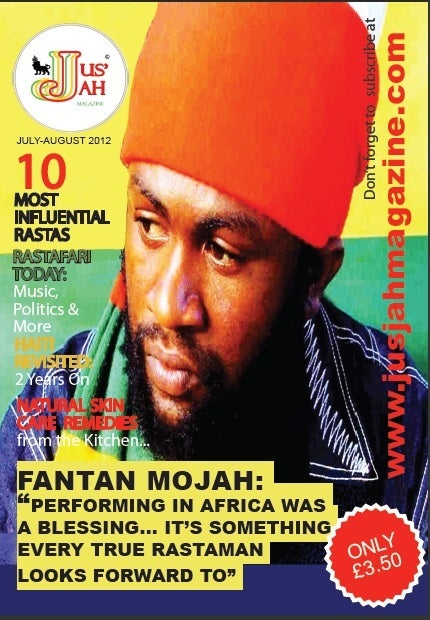 Image of Jus Jah Magazine Issue 3 (July-August 2012)