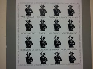 Image of Unbuckled Records Volume 1 LP