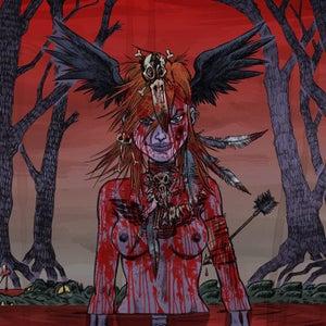 Image of SGDM - LOVE LIKE BLOOD - a2 giclée print