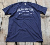 Image of Navy HBBC logo shirt