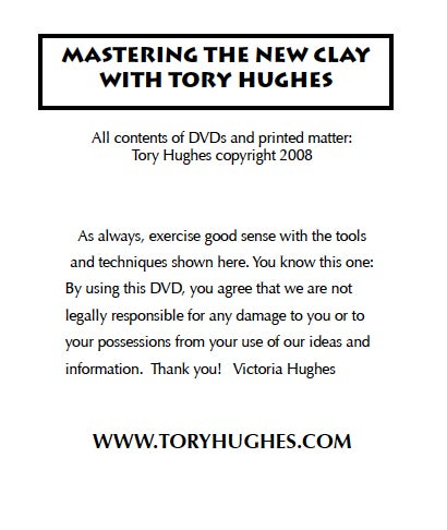 """Image of MP4: """"Foundations in Polymer"""" Mastering the New Clay DVD volume 1"""
