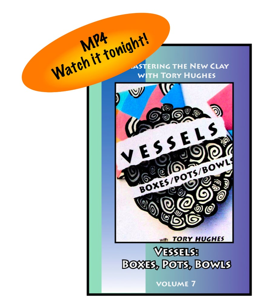 """Image of MP4: """"Vessels: Boxes, Pots and Bowls"""" Mastering the New Clay DVD volume 7"""