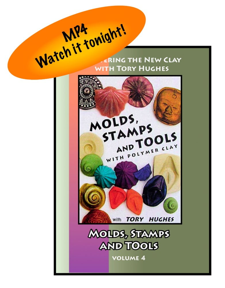 """Image of MP4: """"Molds, Stamps and Tools"""" Mastering the New Clay DVD volume 4"""
