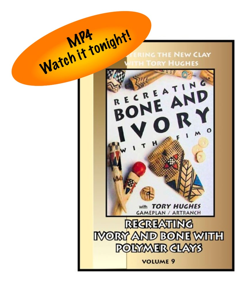 """Image of MP4: """"Recreating Bone and Ivory in Polymer"""" Mastering the New Clay DVD volume 9"""