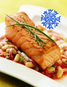 Image of SOLD OUT Add On:: just frozen -- Wild AK Copper River King Salmon - Fillet Portions
