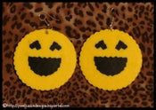 Image of Smiley Face Earrings
