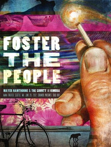 Image of FOSTER THE PEOPLE WaMu Theater Seattle