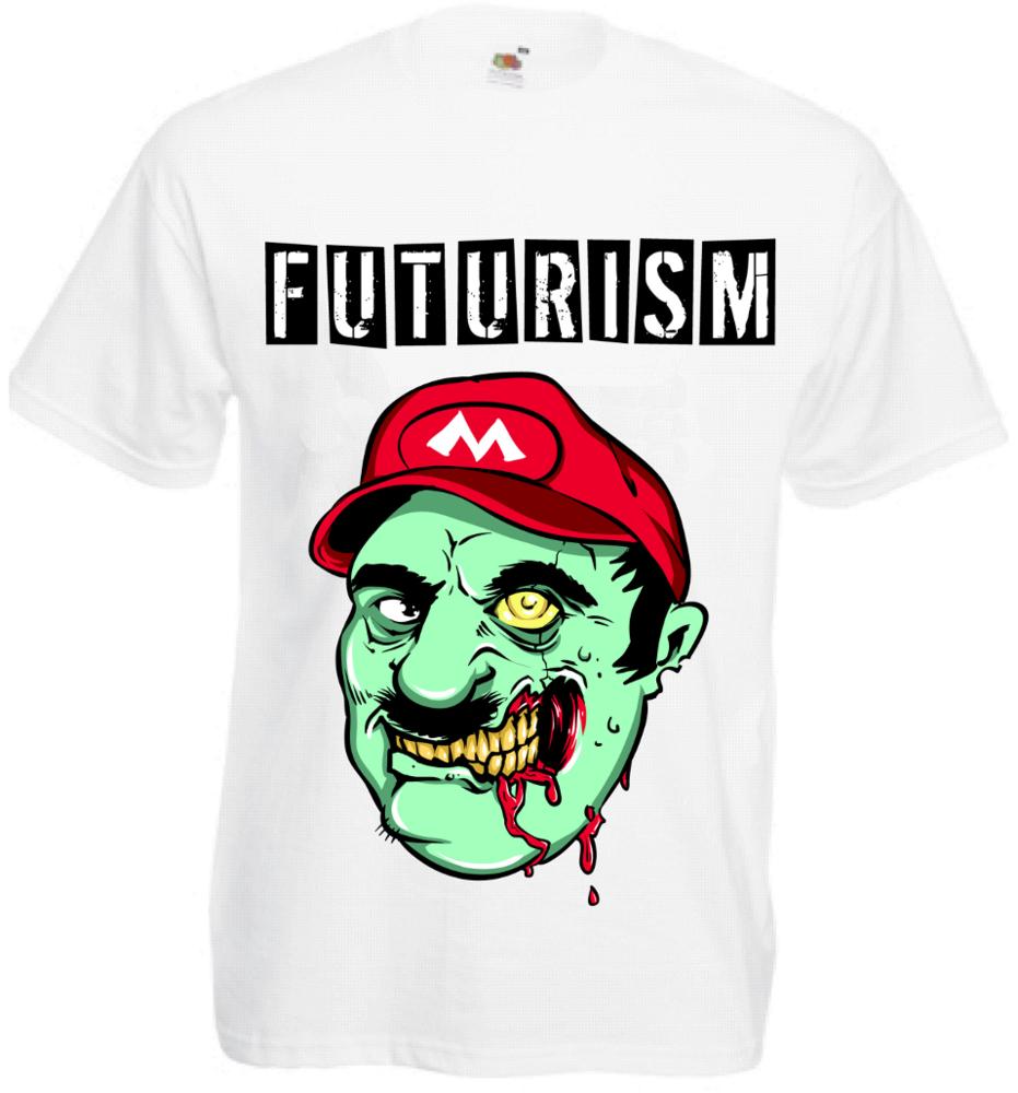 Image of White Zombie Mario Tee