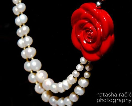 Image of Love and Pearls Necklace