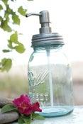 Image of Mason Jar Soap Dispenser - Quart or Pint