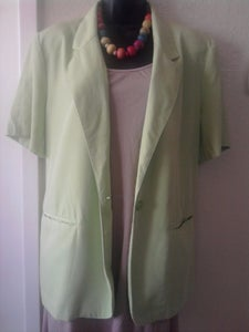Image of Lime Green Blazer sz 16