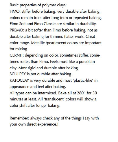"""Image of MP4: """"Bead Shapes and More in Polymer Clays"""" Mastering the New Clay DVD volume 3"""