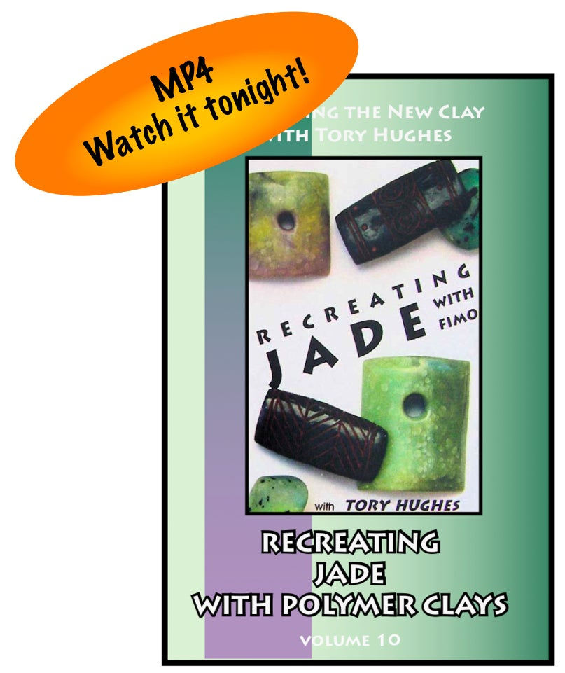 "Image of MP4: ""Recreating Jade in Polymer"" Mastering the New Clay DVD volume 10"