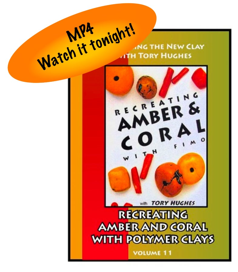 "Image of MP4: ""Recreating Amber and Coral in Polymer"" Mastering the New Clay DVD volume 11"