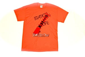 Image of Static Life Shirt - Orange