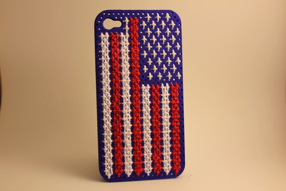 Image of American Flag iPhone Case