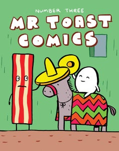 Image of Shaky's Vacation - a Mr Toast Comic