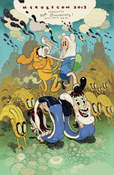 Image of Adventure Time #5 HeroesCon Variant by Dave Cooper