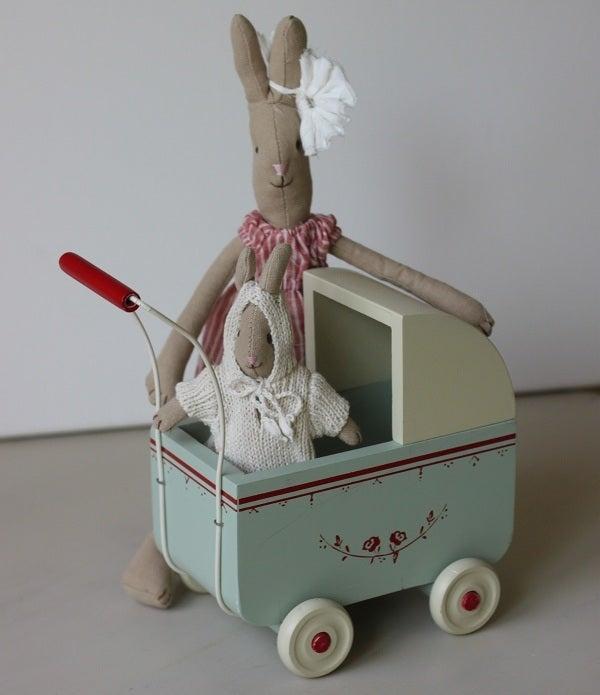 Image of Newborn Baby Rabbit In Trolly Bag