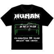"Image of Human - 20th Anniversary ""Rockin' The Coffin"" tee"