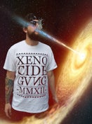 Image of XENO CIDE GVNG White Tee