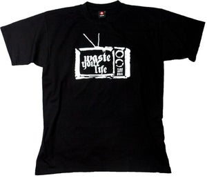 Image of Waste Your Life TV black