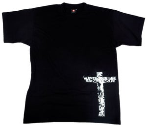 Image of Waste Your Life Cross black