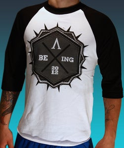 "Image of ""Being"" Baseball Tee"