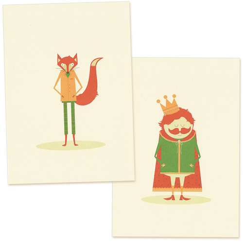 Image of The Fox And King