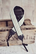 Image of chevron in mint strap