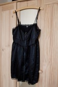 Image of ASOS Silky Camisole Dress with zip Front Sz 12 US