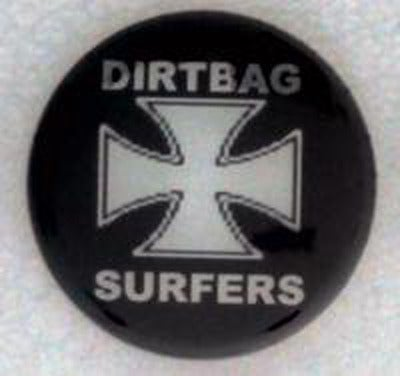 Image of Dirtbag Surfers Buttons