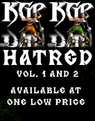 Image of KGP - Hatred Vol. 1 and Vol. 2