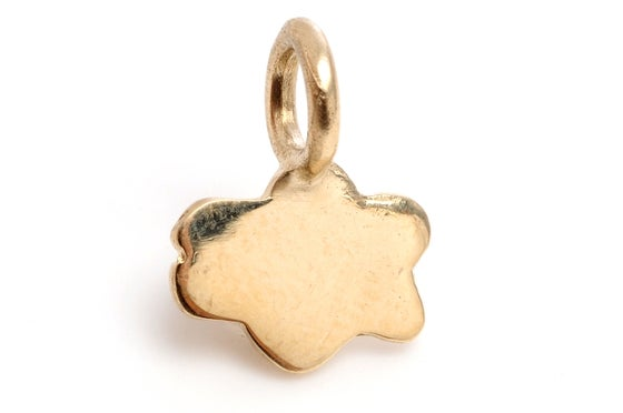 Image of 14kt Gold Mini Cloud Charm