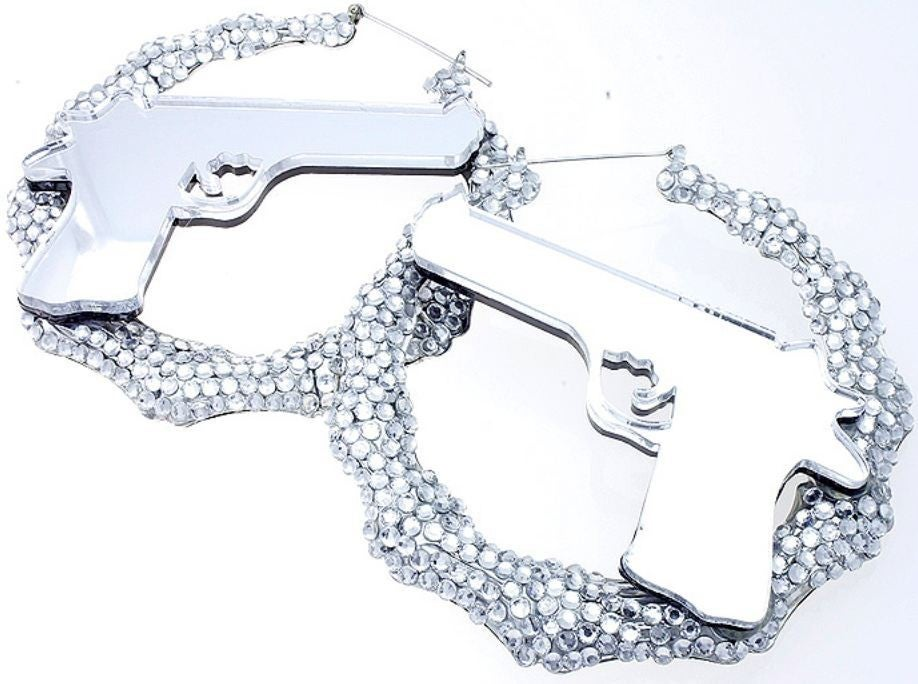 Image of Bang Bang Gun Earrings