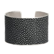 Image of Manchette Moon argent large / Moon silver cuff large