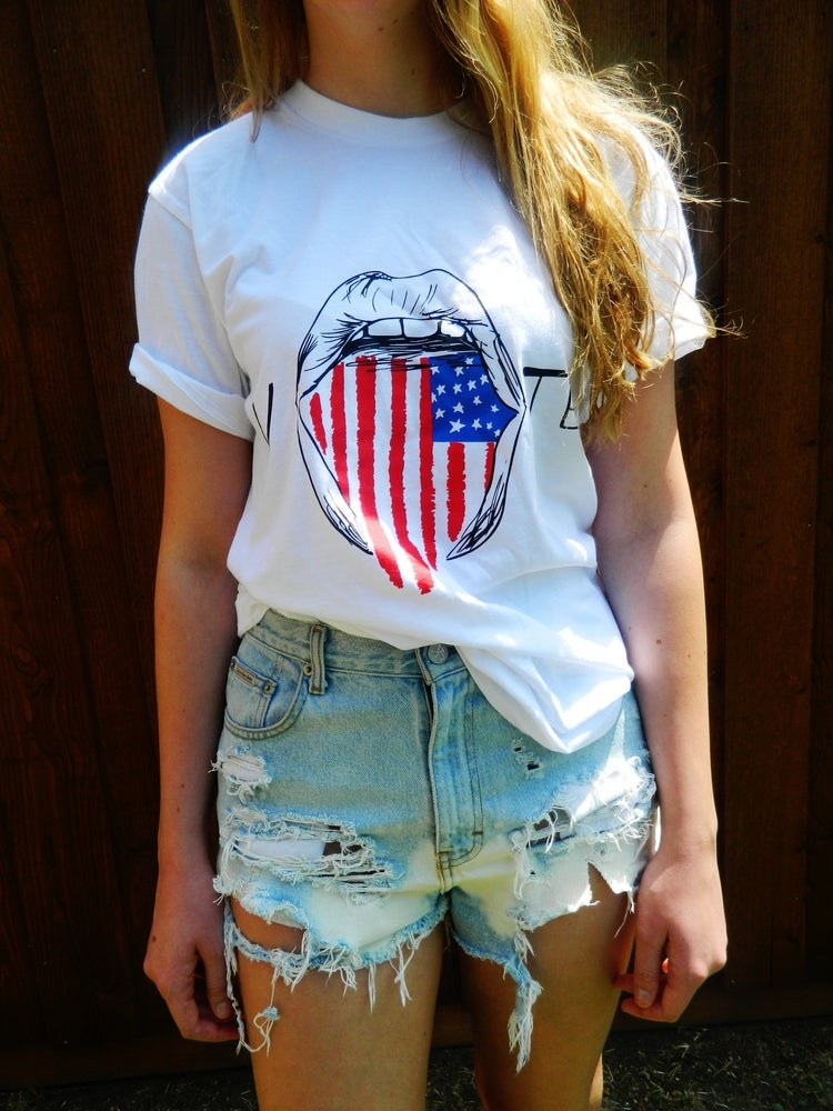 """Image of 2012 Presidential Election """"Vote"""" Tee"""