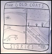 "Image of The Gold Coats/Shelley Short - Splt 7"" Stories/Right Away (FYI007)"
