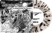"Image of The Catastrophe / Vipers 7"" Split (Clear w/Black splatter Vinyl) ltd.250 Hand-Numbered DOWNLOAD CARD"