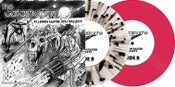 """Image of The Catastrophe / Vipers 7"""" Split (Both Colors) ltd.250 each Hand-Numbered DOWNLOAD CARD"""