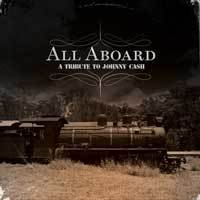 Image of ALR:008 All Aboard: A Tribute To Johnny Cash COLOR Vinyl
